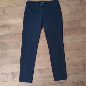 Pink Tartan ponte pants black size 8